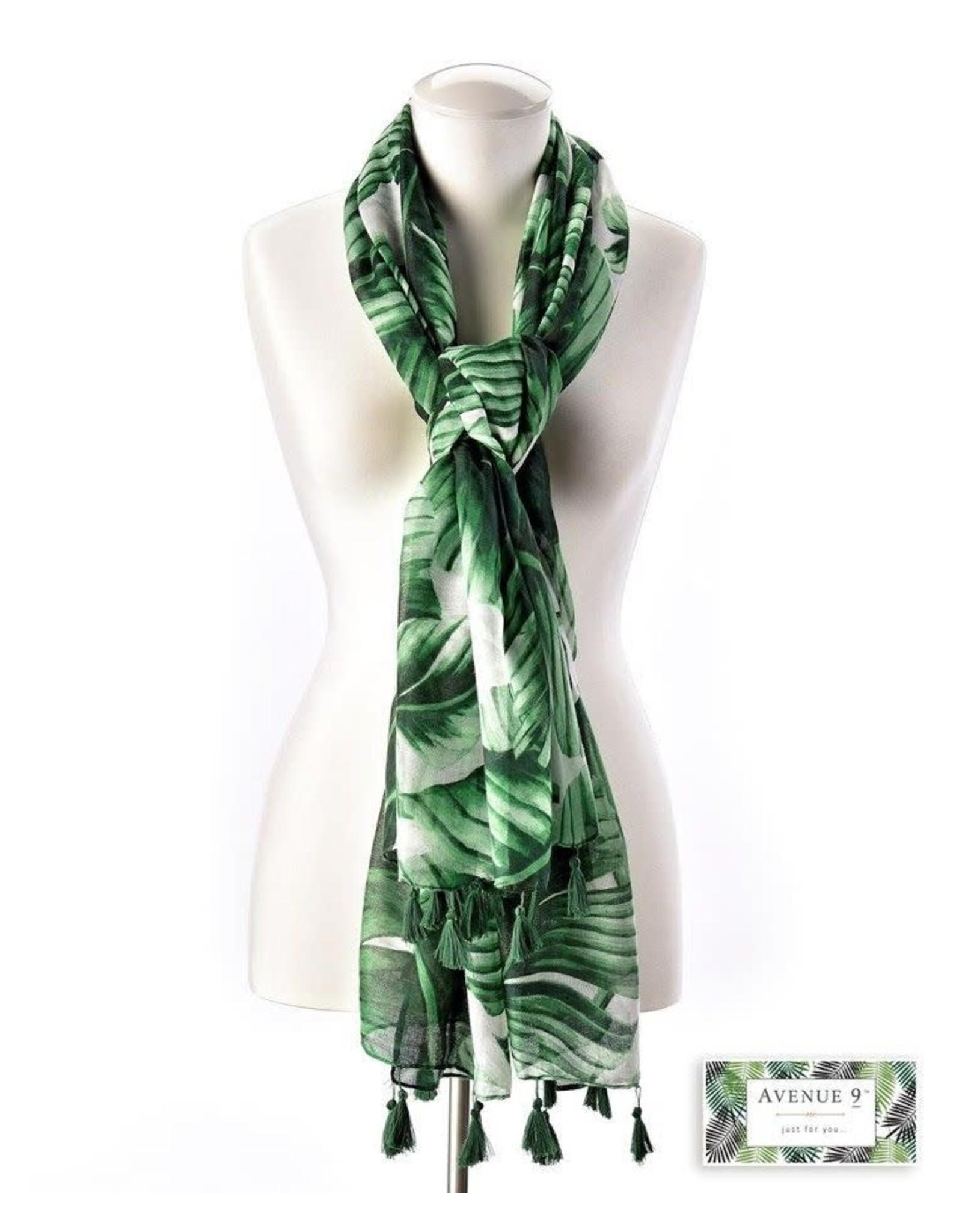 GiftCraft Inc. Havanna Green Scarf