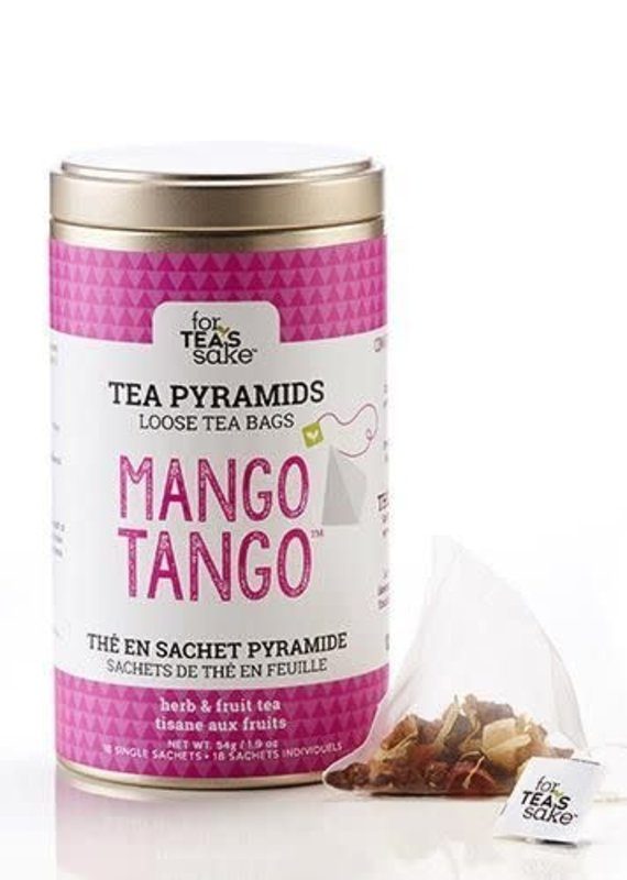 For Tea's Sake For Tea's Sake Mango Tango Tea Bags