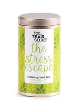 For Tea's Sake For Tea's Sake The Stress Escape Tea Blend
