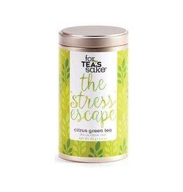 For Tea's Sake For Tea's Sake The Stress Escape Tea Blend