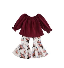 Honeydew Clothing Maroon Top
