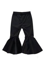 Honeydew Clothing Black Flared Velvet Bells