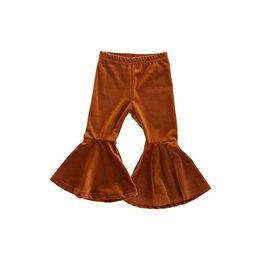 Honeydew Clothing Caramel Flared Velvet Bells