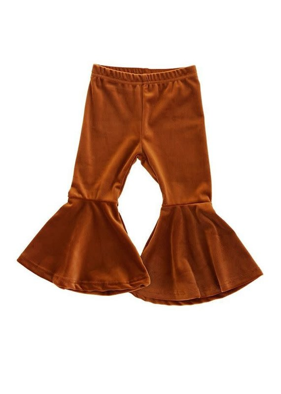 Honeydew Clothing Caramel Flared Velvet Bells