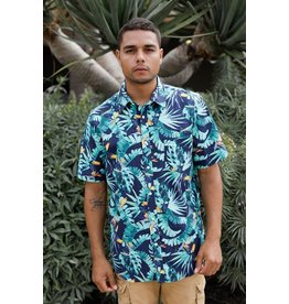 Island Haze Island Haze Tropics Print Button Up