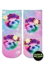 Living Royal Glow/Glitter Sock-Sloth