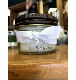 Allure Home Fragrance 4oz Jar Candle-Sea Salt and Sage
