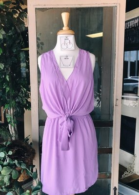 Caramela Solid Sleeveless Dress