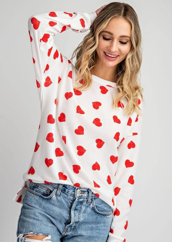 Ee:some Red Heart Shirt