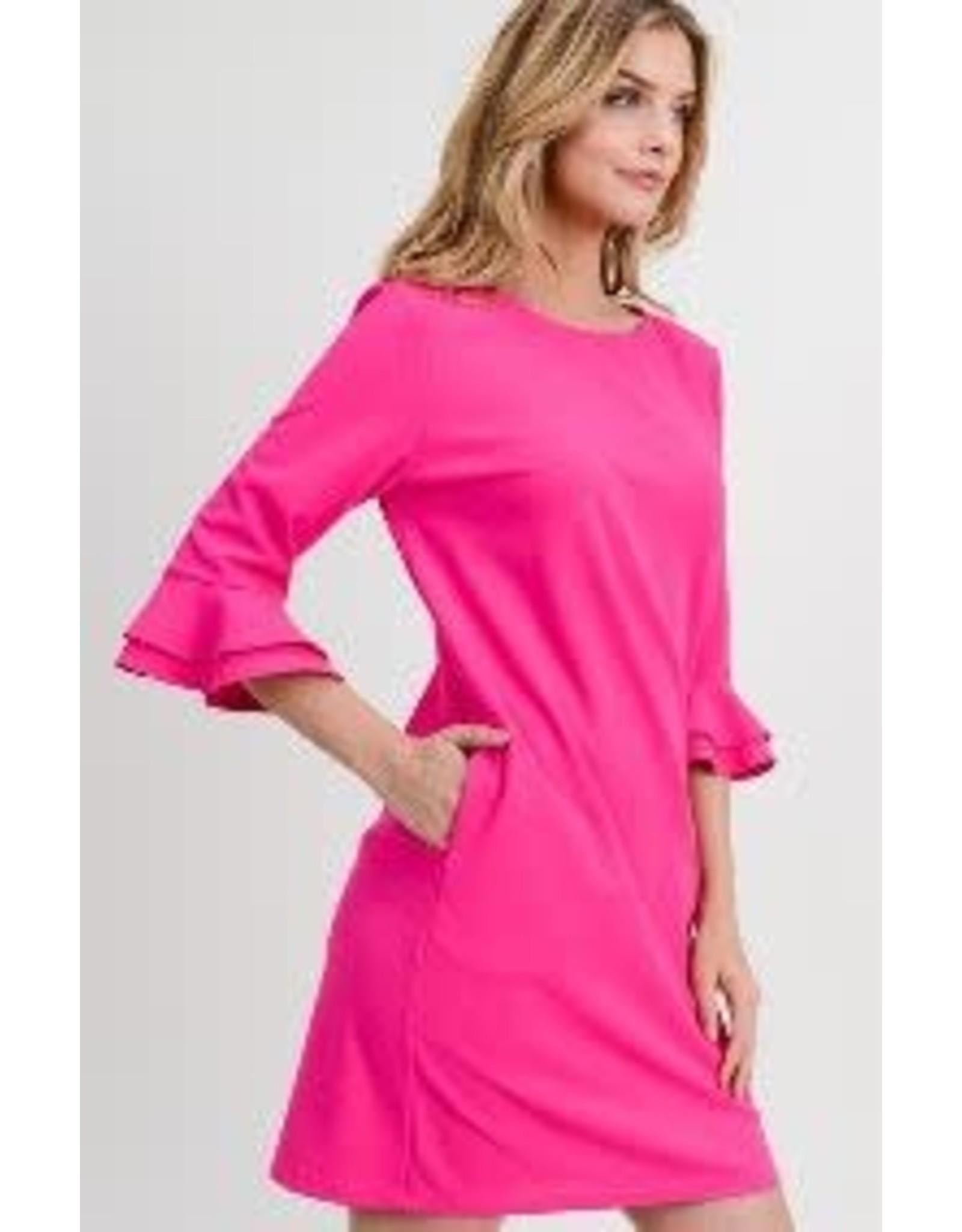 First Love Amuzen Dress w/Tiered Sleeve