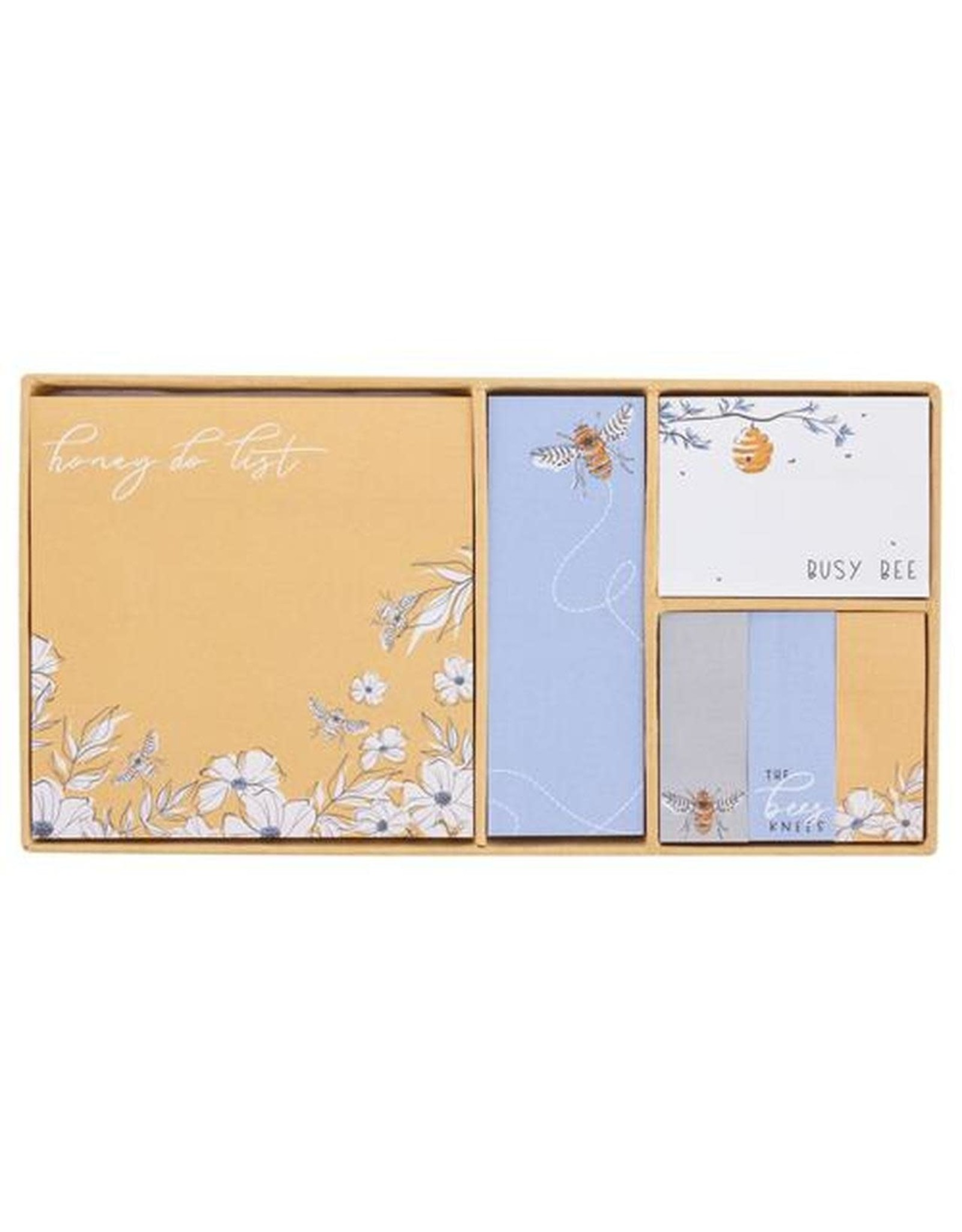 Karma Boxed Sticky Notes-Bee