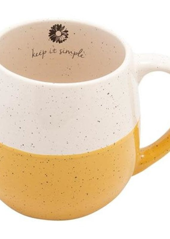 Karma Speckled Mug-Daisy