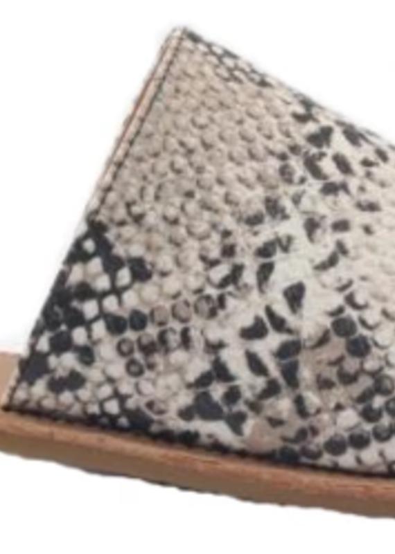 Camel Threads Sahara Snake Print Sandal