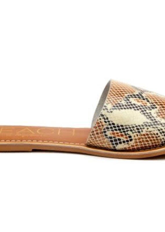 Matisse Footwear Cabana-White Snake Leather