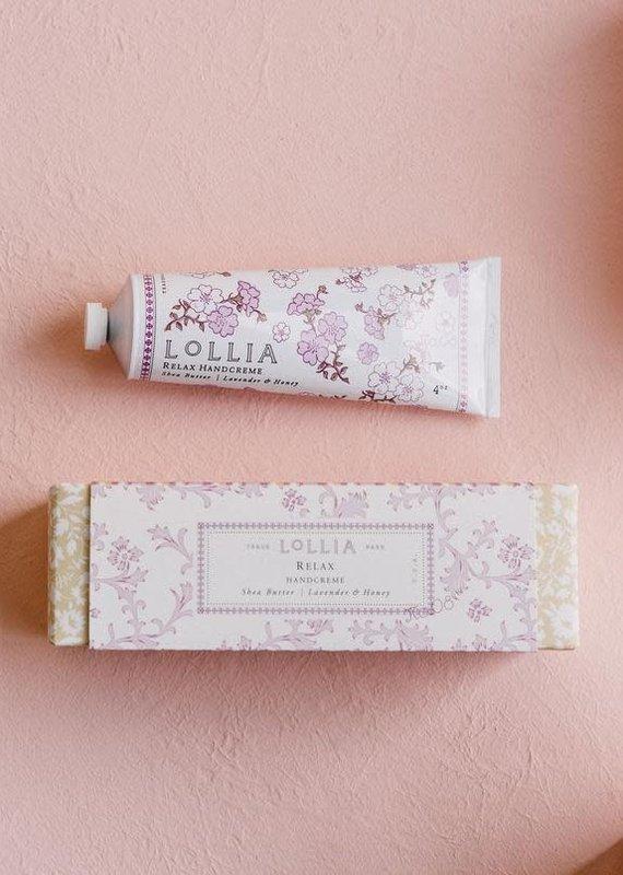 Lollia Relax Shea Butter Hand Cream