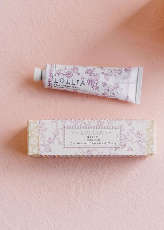 Lollia Relax Travel Size Hand Creme