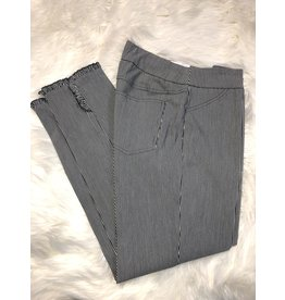 Multiples Wide Band P/O Ankle Pant
