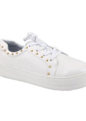 Camel Threads Rossi White Sneaker
