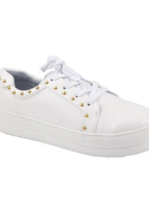 Camel Threads Rossi White Sneaker