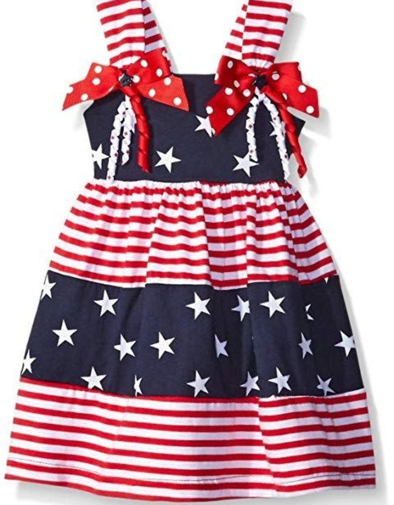 Good Lad Apparel 4th of July Stars and Stripes Dress