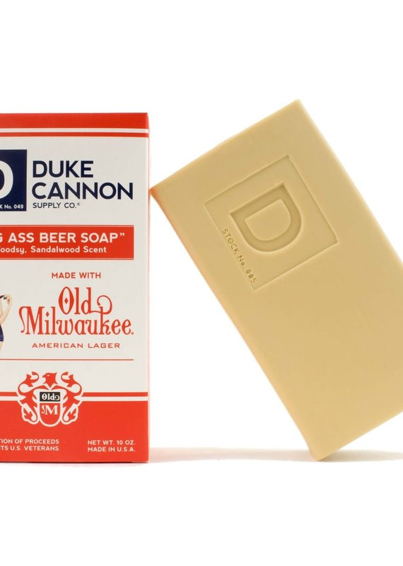 Duke Cannon Supply Co Pinup Big Ass Beer Soap