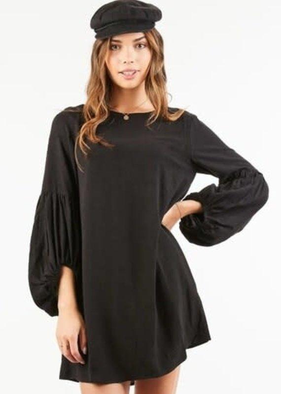 Very J Black Dress
