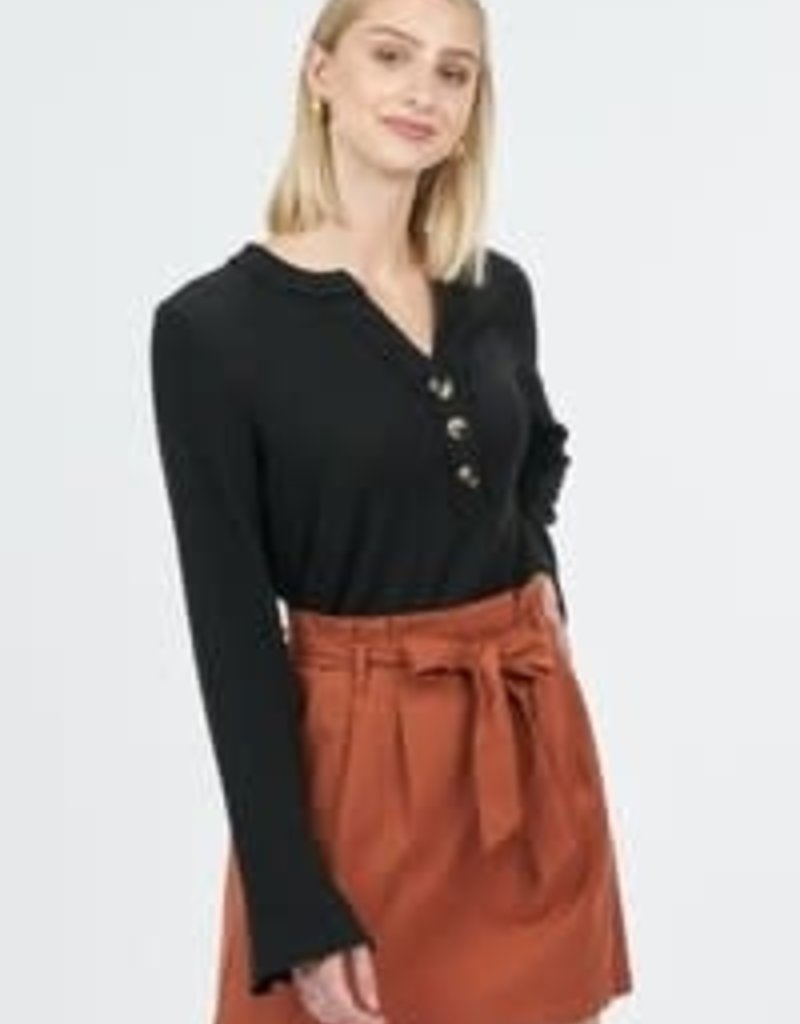 Very J Button Detail Top