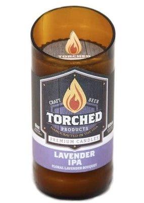 Torched Torched Beer Bottle Candle -Lavender