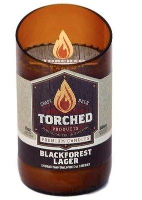 Torched Torched Beer Bottle 8oz Candle-BlackForest Lager