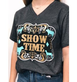 Spirit with Style Gold and Turquoise ST Tee