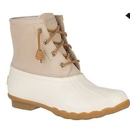 Sperry Saltwater Duck Boot-Ivory