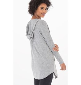 Z-Supply The Marled Hoodie Cardigan-M