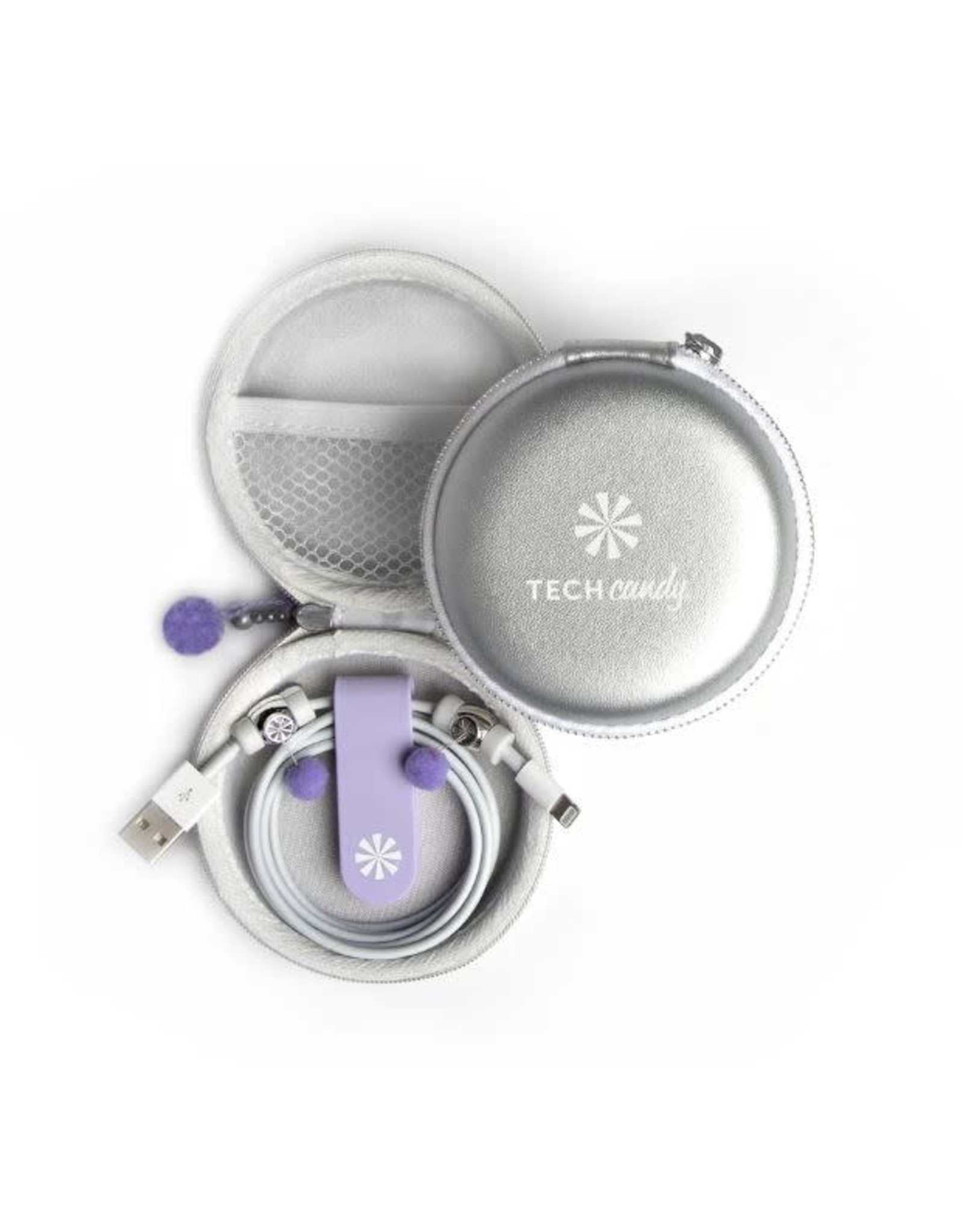 Tech Candy Cord Order-Silver