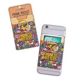 Natural Life Kindness Matters Phone Pocket