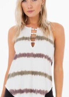 White Crow Heat Wave Top-L