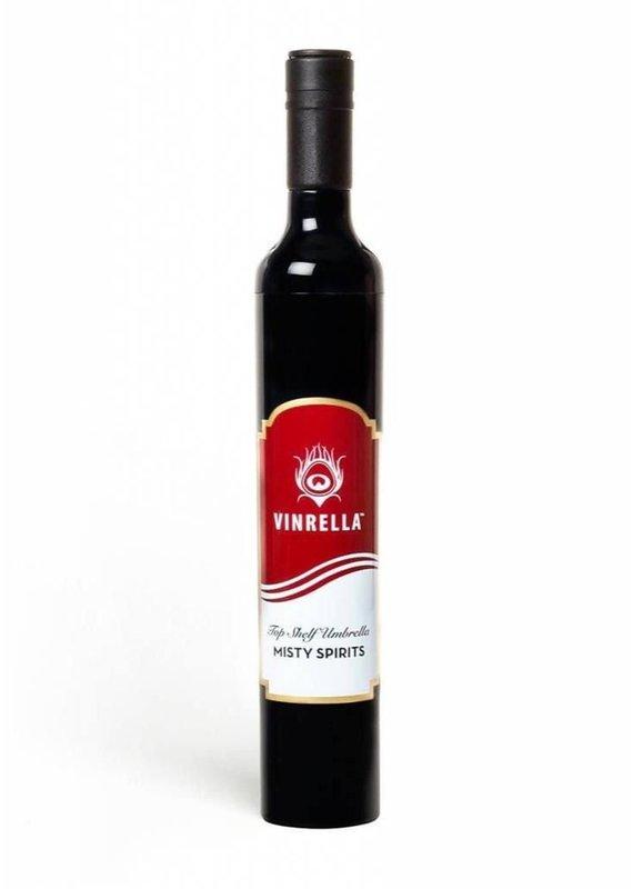 Vinrella Wine Bottle Label Blk/Red/Gold