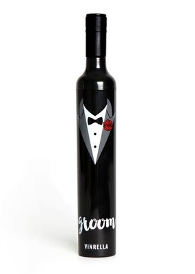 Vinrella Groom Wine Umbrella
