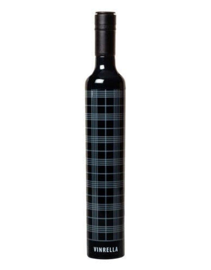 Vinrella Black Plaid Umbrella