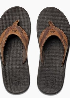 Reef Leather Fanning Bronze