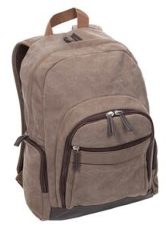 Occassionally Made Washed Canvas Backpack