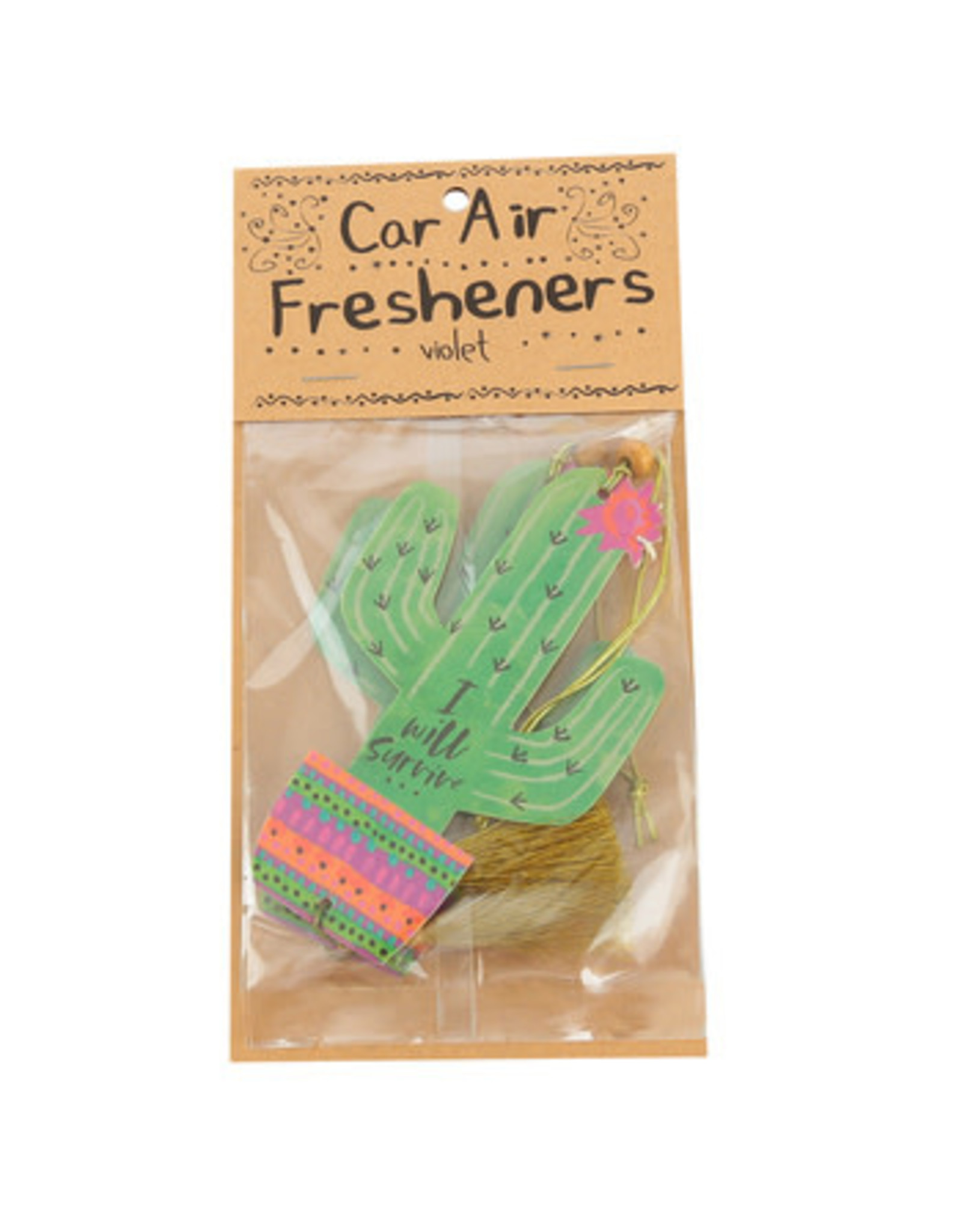 Natural Life I Will Survive Air Freshener