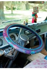 Natural Life Olive Floral Steering Wheel Cover