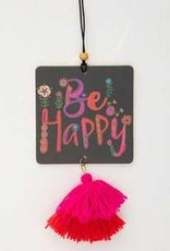 Natural Life Air Freshener- Be Happy