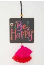 Natural Life Air Freshener- Be Happy