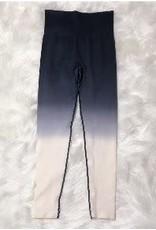 Mono B Black Dip Dye Legging