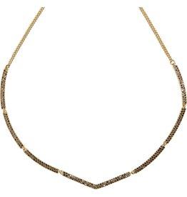 Vera Bradley Whisper Links Short Necklace