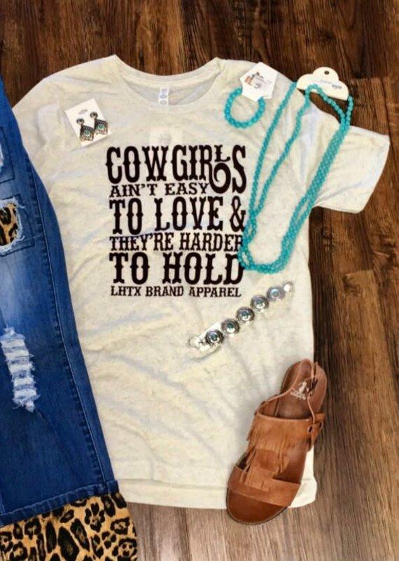 "LHTX LHTX ""Cowgirls aint easy"" Size XL"
