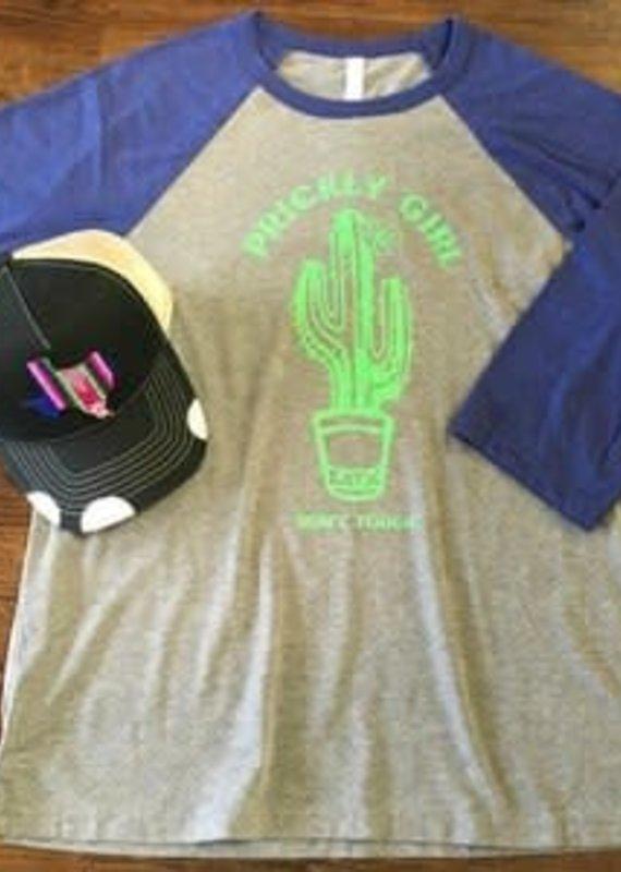 LHTX Prickly Girl Baseball Raglan