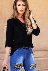 L&B Black Plus Size L&B Black Shirt