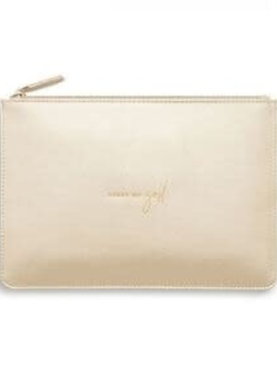 Katie Loxton Perfect Pouch- Heart of Gold